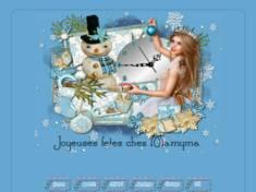 Noel en bleu 1