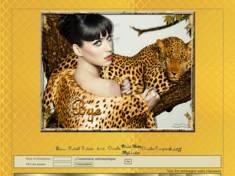 Femme & léopard