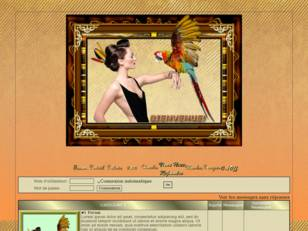 Femme & perroquet