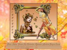 Femme en jaune (automne)