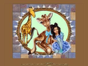 Fille & girafes