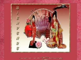 Asiatique avec cigogne