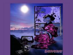 Geisha qui peint