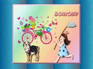 Fille & vélo &...