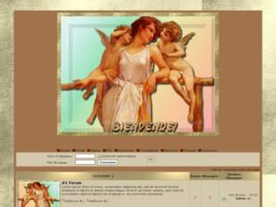 Femme & 2 anges