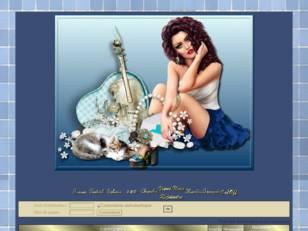 Femme décor violon &am...