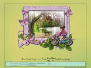 *Fille en vélo*