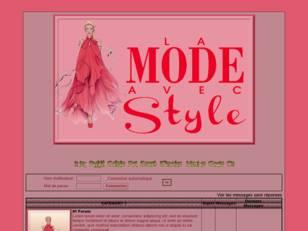La mode avec style