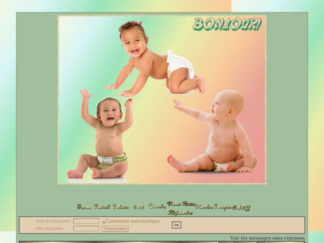 Bébés pastel