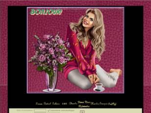 Femme au vase à fleurs