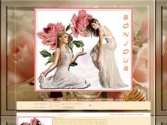 2 femmes & roses p...