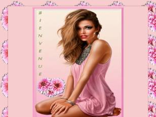 Femme bbdoll rose