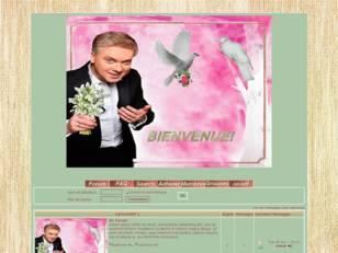 Homme aux fleurs