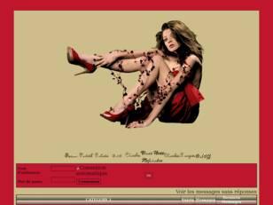 Femme sexy de rouge