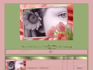 Un oeil & tulipes
