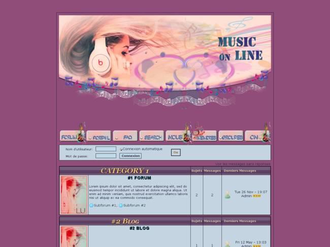 music on line
