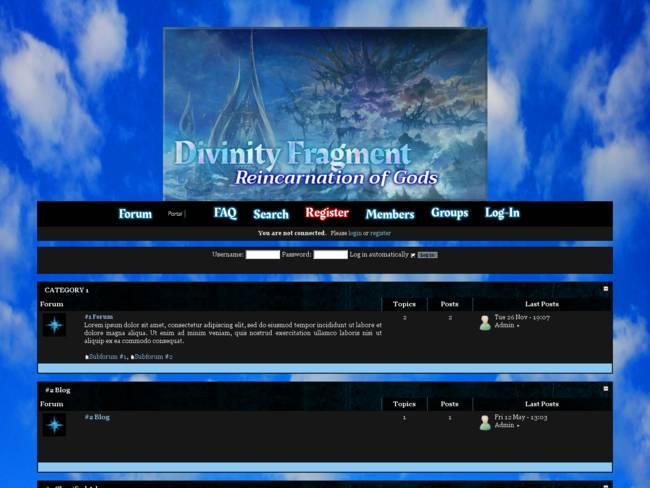 Rin Moriyama's Blue Fantasy