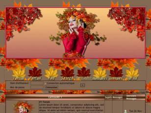 Femme feuilles automne1