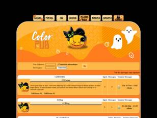 Theme halloween color pub