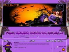 Halloween belle sorcière