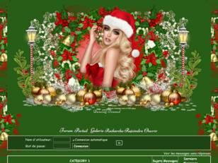 Noel 2019 rouge et vert
