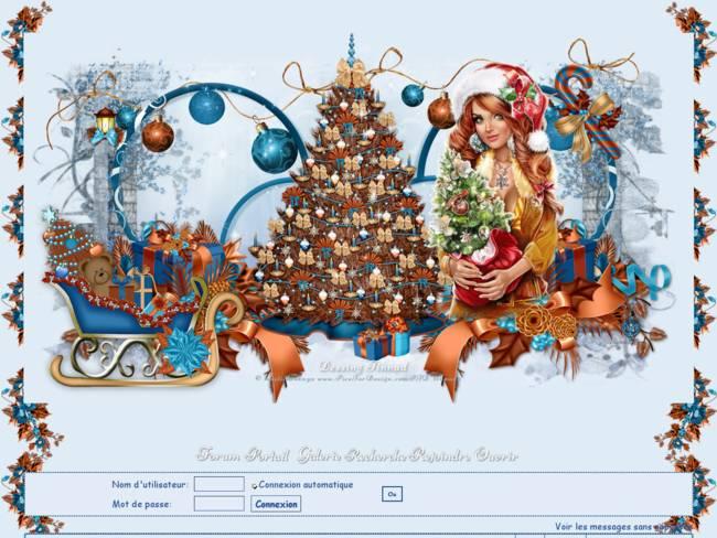 Noel 2019 sapin brun