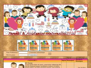 Assistantes maternelle...