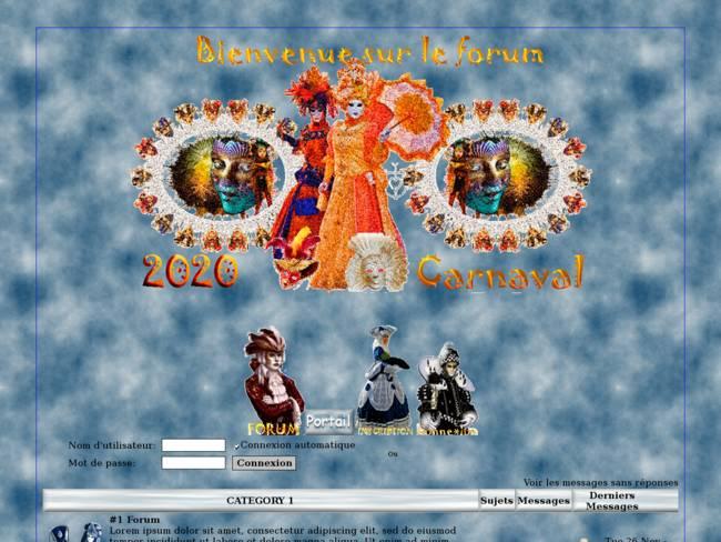 fête de Carnaval jean-louis