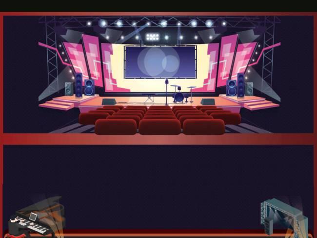استايل المسرح الاول من نوعه اهداء للجميع تصميمridy awod 2020