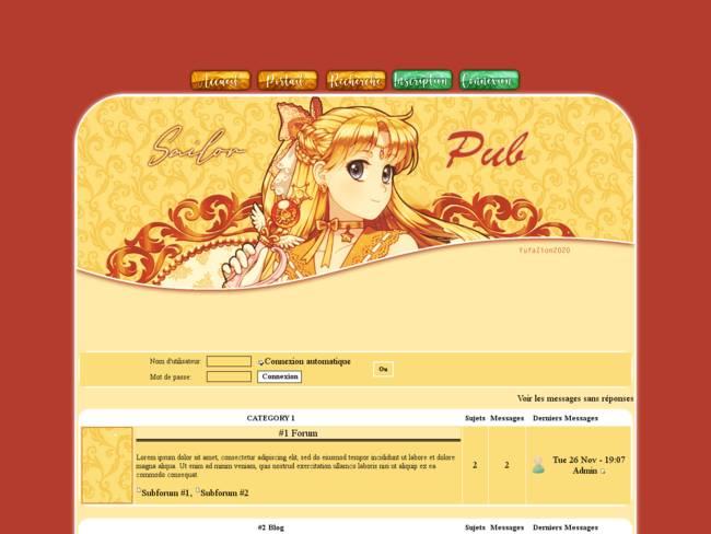 Sailor Venus - Theme été