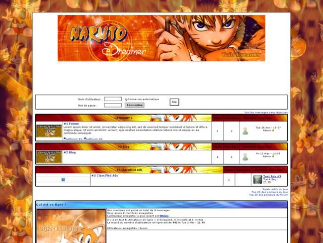 Tails Dreamer Naruto de Pâques