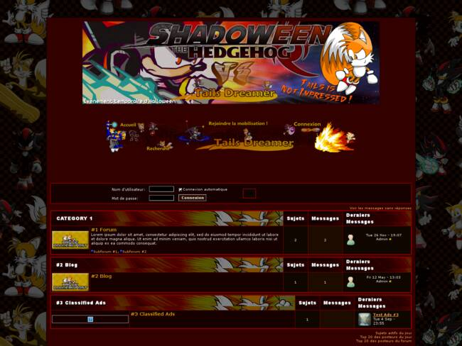 Tails Dreamer VS Shadoween
