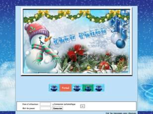Noel tout en bleu
