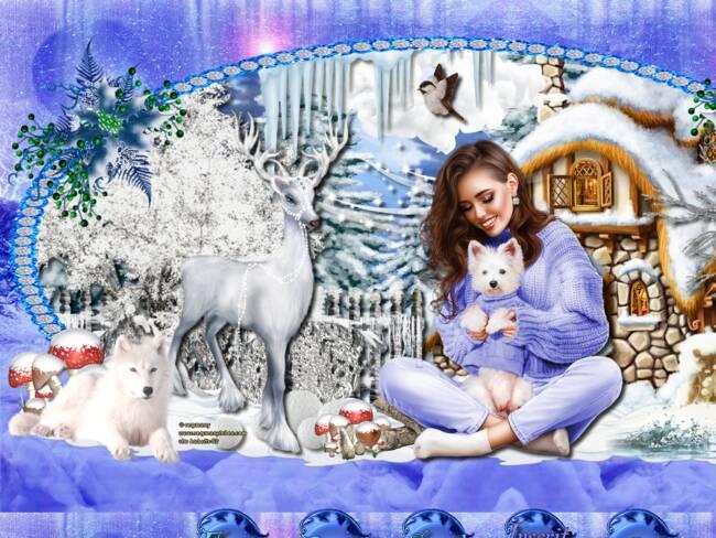 hiver bleu 2020
