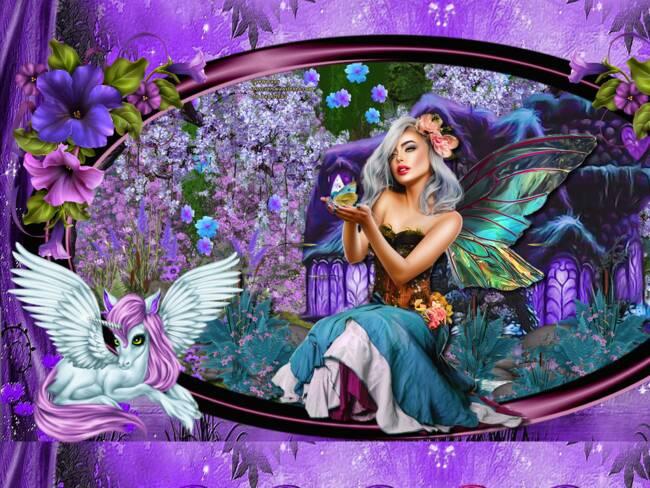 féerique  violet 2021