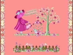Le printemps tout en rose
