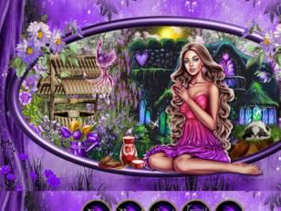 Printemps  violet  2021