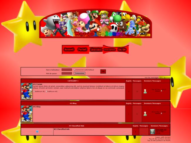 Mario en phpbb3 remix