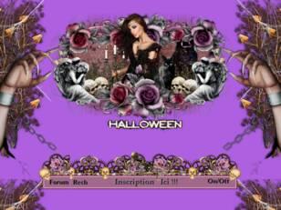 Halloween en mauve