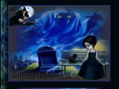 Halloween bleu 2021  n...