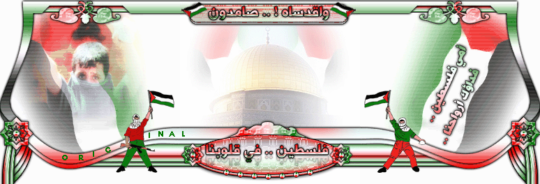 منتديات صقر فلسطين الاسلامية