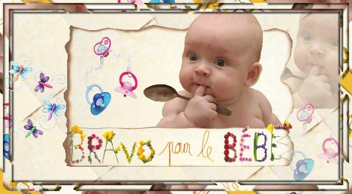 Bravo pour le bébé