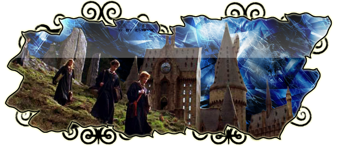 The magic of Hogwarts begins ...