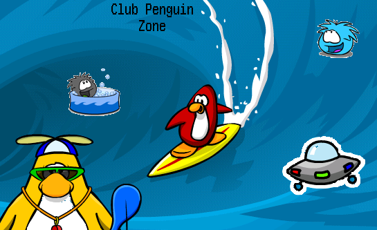 Club Penguin Hangout Place