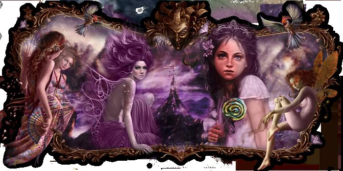 Grimoire magique de femme
