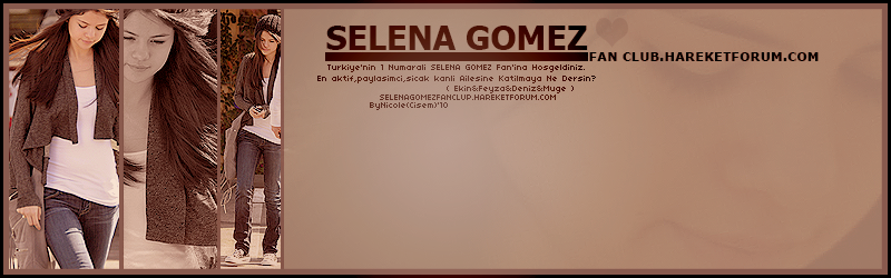 | ~ Selena Gomez Fan CLub ~ |