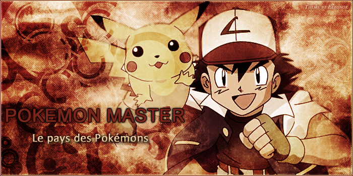 Pokemon-Master :: Forum Pokémon !