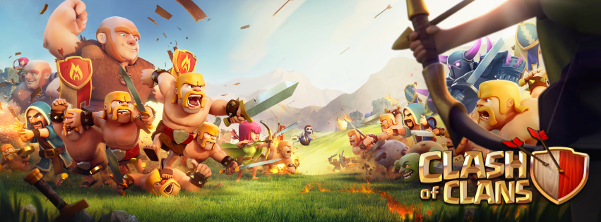 clash of clan by les frères pekk