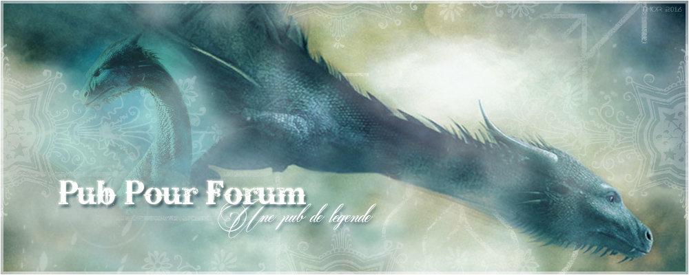 Pub pour forum