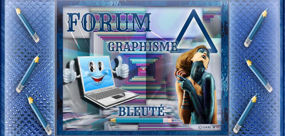 Forum Graphisme bleuté